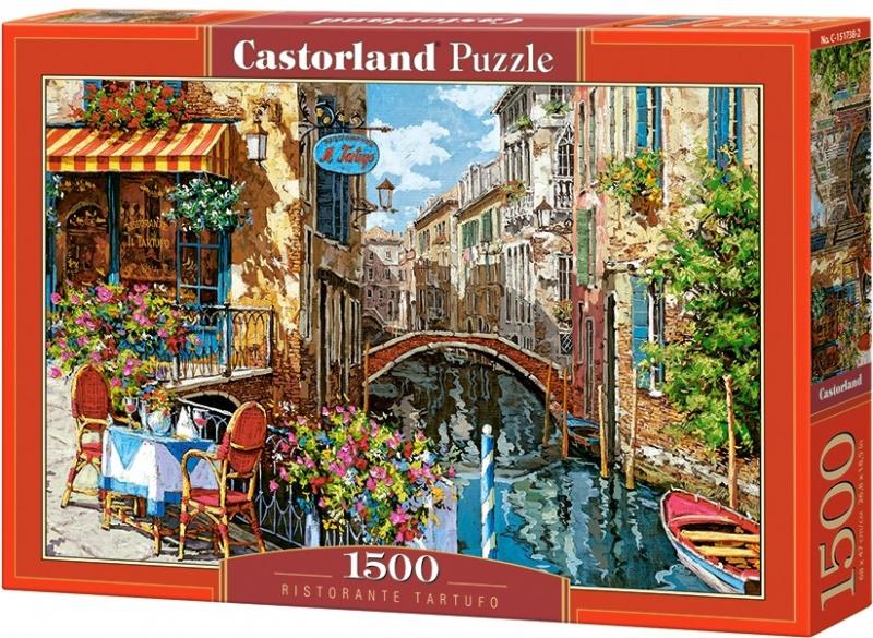 Puzzle Castorland 1500 dílků - Restaurace Tartufo