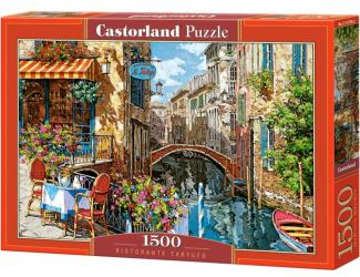 Puzzle 1500 dílků- Restaurace Tartufo