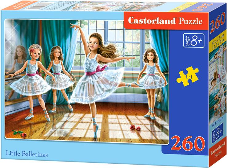 Puzzle Castorland 260 dílků - 4 malé baletky
