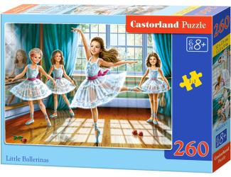 Puzzle 260 dílků - 4 malé baletky