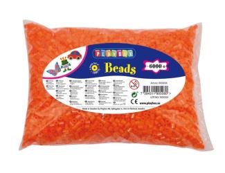 Zažehlovací korálky - 6 000 ks - oranžové