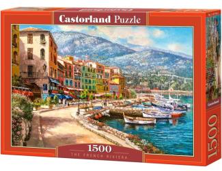 Puzzle Castorland 1500 dílků- Francouzská riviera