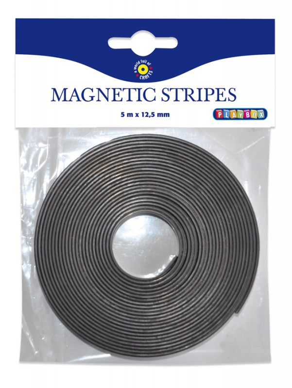 Magnetická lepící páska 5m x 12,5mm
