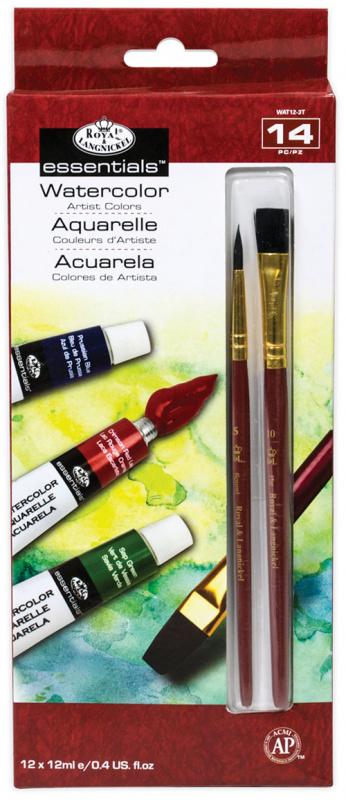 Royal- akvarelové barvy 12 ks á 12ml
