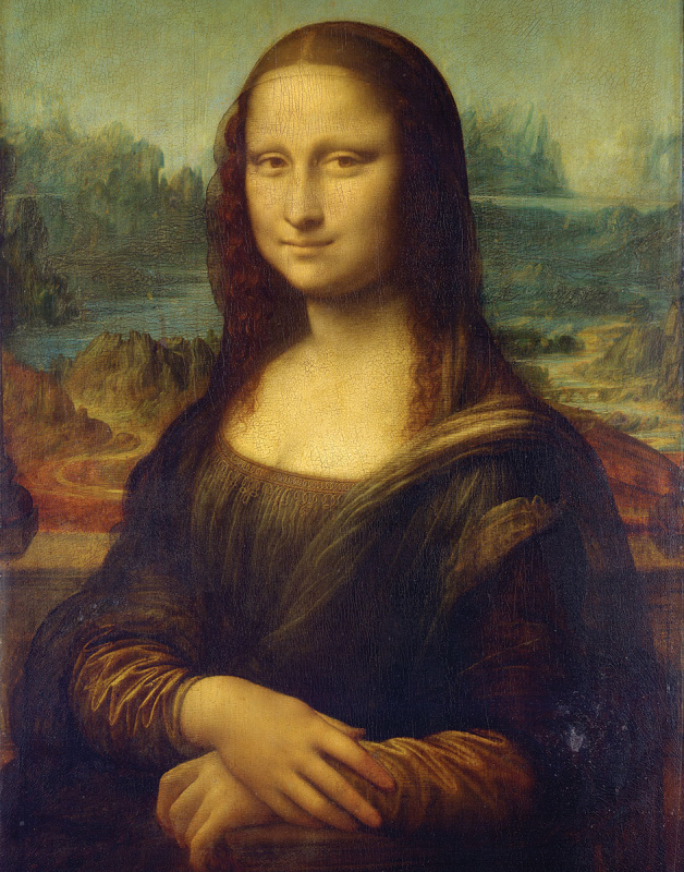 Malířské plátno Royal Langnickel - Mona Lisa, Leonardo da Vinci