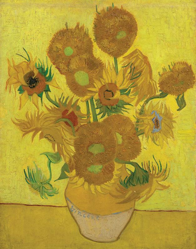 Malířské plátno Royal Langnickel - Slunečnice, Vincent Van Gogh