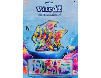 Vitráž - ryba