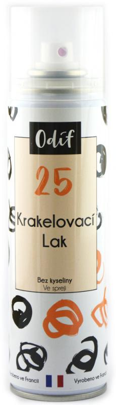 Odif Krakelovací lak ve spreji, 250ml