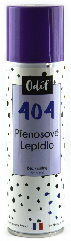 Odif Lepidlo 404 - přenosové ve spreji, 250 ml