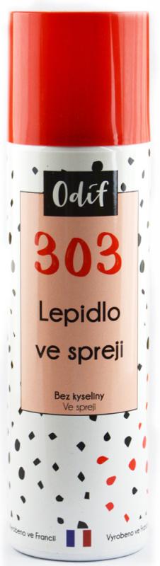 Odif Lepidlo 303 - extra silné ve spreji, 250 ml