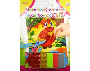 Mozaikový obrázek - Papoušek