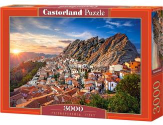 Puzzle 3000 dílků - Pietrapertosa, Italy