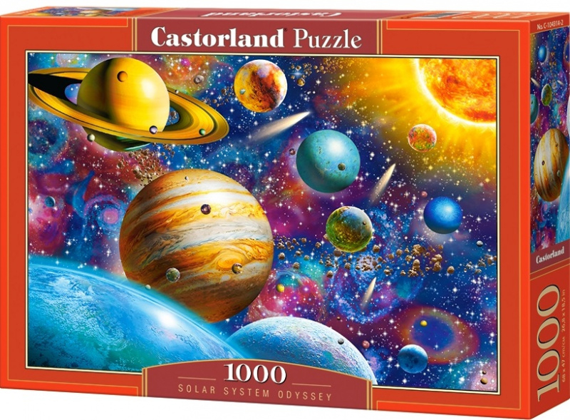 Puzzle Castorland 1000 dílků - Vesmír