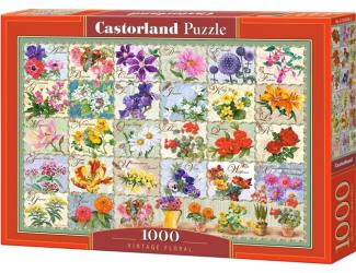 Puzzle 1000 dílků - Herbář květin