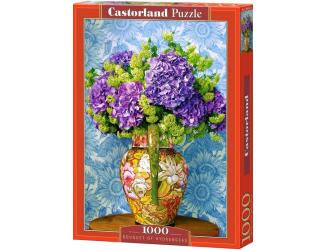 Puzzle 1000 dílků - Kytice hortenzií