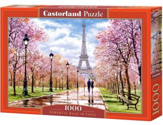 Puzzle 1000 dílků - Romantická procházka v Paříži