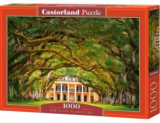 """Puzzle 1000 dílků - Průchod pod stromy (""""Oak Alley Plantation"""")"""