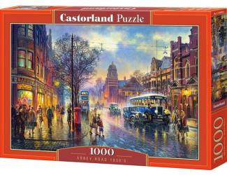 Puzzle Castorland 1000 dílků - Abbey Road v roce 1930