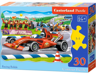 Puzzle 30 dílků - Závodní formule