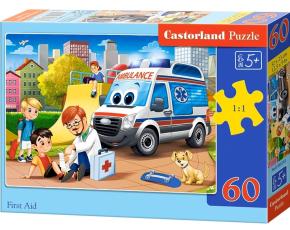 Puzzle Castorland 60 dílků - První pomoc