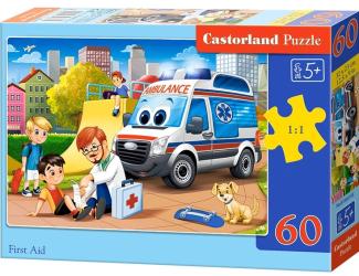 Puzzle 60 dílků - První pomoc