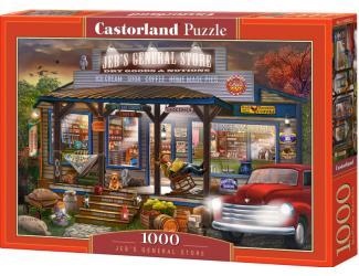 Puzzle Castorland 1000 dílků - Jebův krámek se smíšeným zbožím