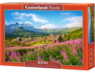 Puzzle Castorland 1000 dílků - Dolina Gąsienicowa, Tatry, Polsko
