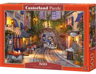 Puzzle 500 dílků - Francouzský chodník