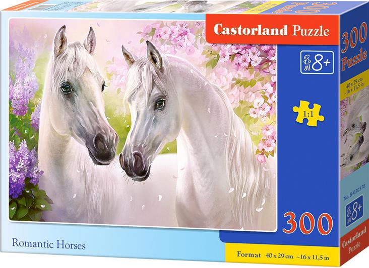 Puzzle 300 dílků - Zamilovaní koně