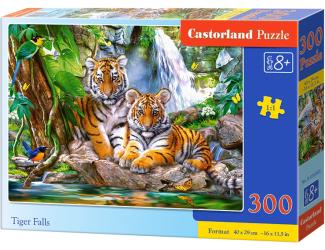 Puzzle 300 dílků - Tygří vodopád