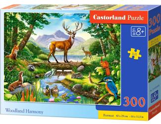 Puzzle 300 dílků - Harmonie lesa
