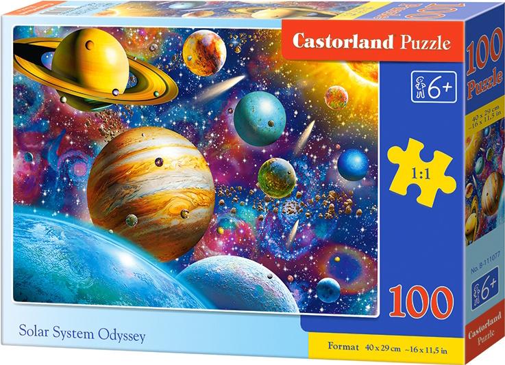 Puzzle Castorland 100 dílků premium - Vesmír