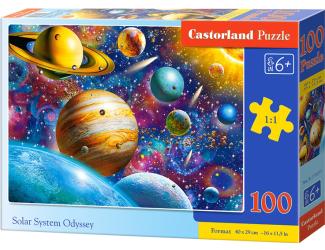 Puzzle 100 dílků premium - Vesmír