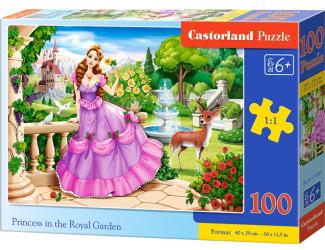 Puzzle 100 dílků premium - Princezna v královské zahradě
