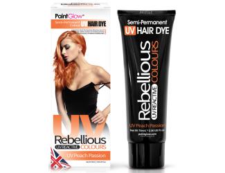 """Barva na vlasy Semi-Pernament UV - broskvová 70 ml """"UV Peach Passion"""""""