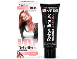 """Barva na vlasy Semi-Pernament UV - světle růžová 70 ml """"UV Cotton Candy"""""""