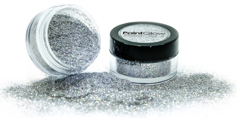 Třpytky holografické 3g - stříbrné (silver)