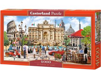 Puzzle Castorland 4000 dílků - Krása Říma
