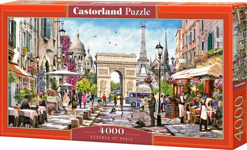 Puzzle Castorland 4000 dílků - Pamětihodnosti Paříže