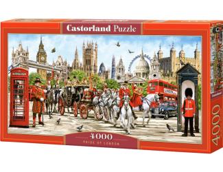 Puzzle Castorland 4000 dílků - Pýcha Londýna