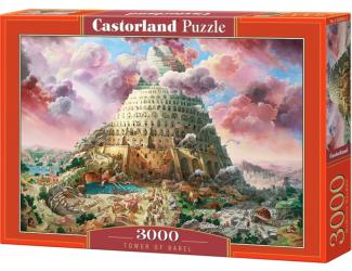 Puzzle Castorland 3000 dílků - Babylonská věž