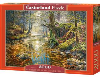 Puzzle Castorland 2000 dílků - Vzpomínka na podzmní les