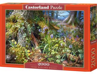 Puzzle Castorland 2000 dílků- Z ruského lesa