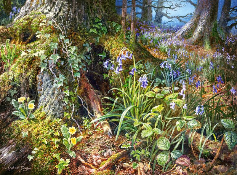 Puzzle Castorland 2000 dílků - Z ruského lesa