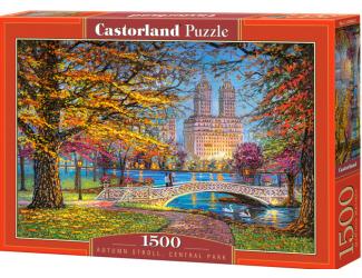 Puzzle 1500 dílků -  Podzimní procházka po Centrál Parku