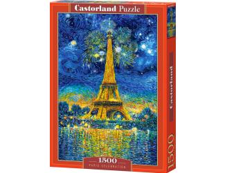 Puzzle 1500 dílků -  Malovaná Paříž