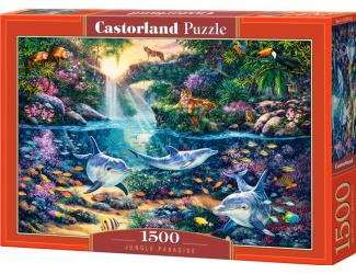 Puzzle 1500 dílků -  Ráj uprostřed džungle
