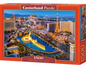 Puzzle Castorland 1500 dílků - Báječné Las Vegas