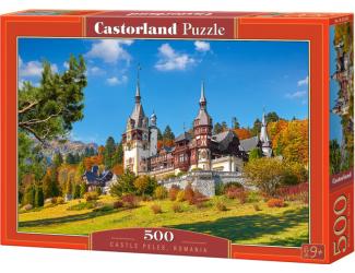 Puzzle 500 dílků - Hrad Peles, Rumunsko