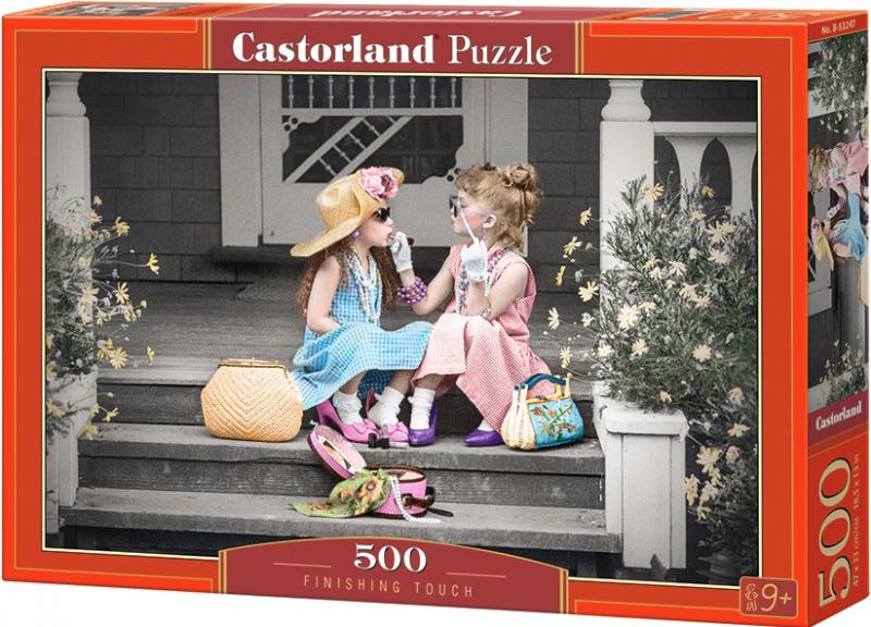 Puzzle Castorland 500 dílků - Holčičky na schodech